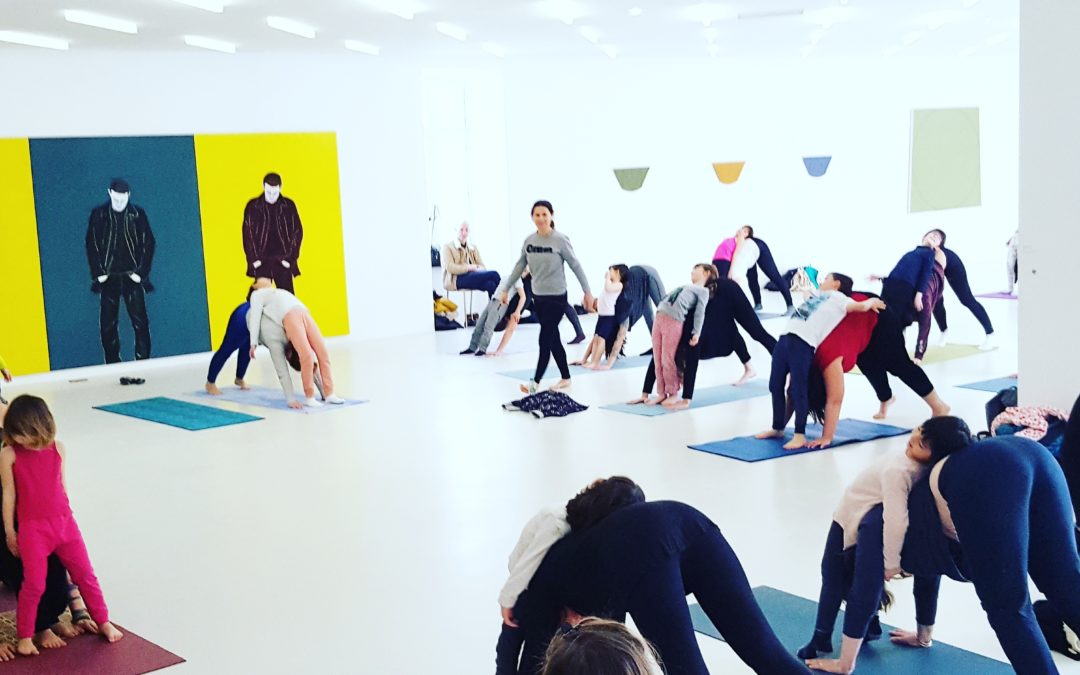 yoga parent-enfant au studio